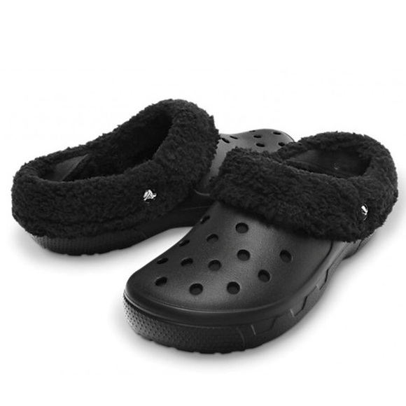 c0e487563f05 CROCS Shoes - Crocs Classic Lined Clog Adult black size 9